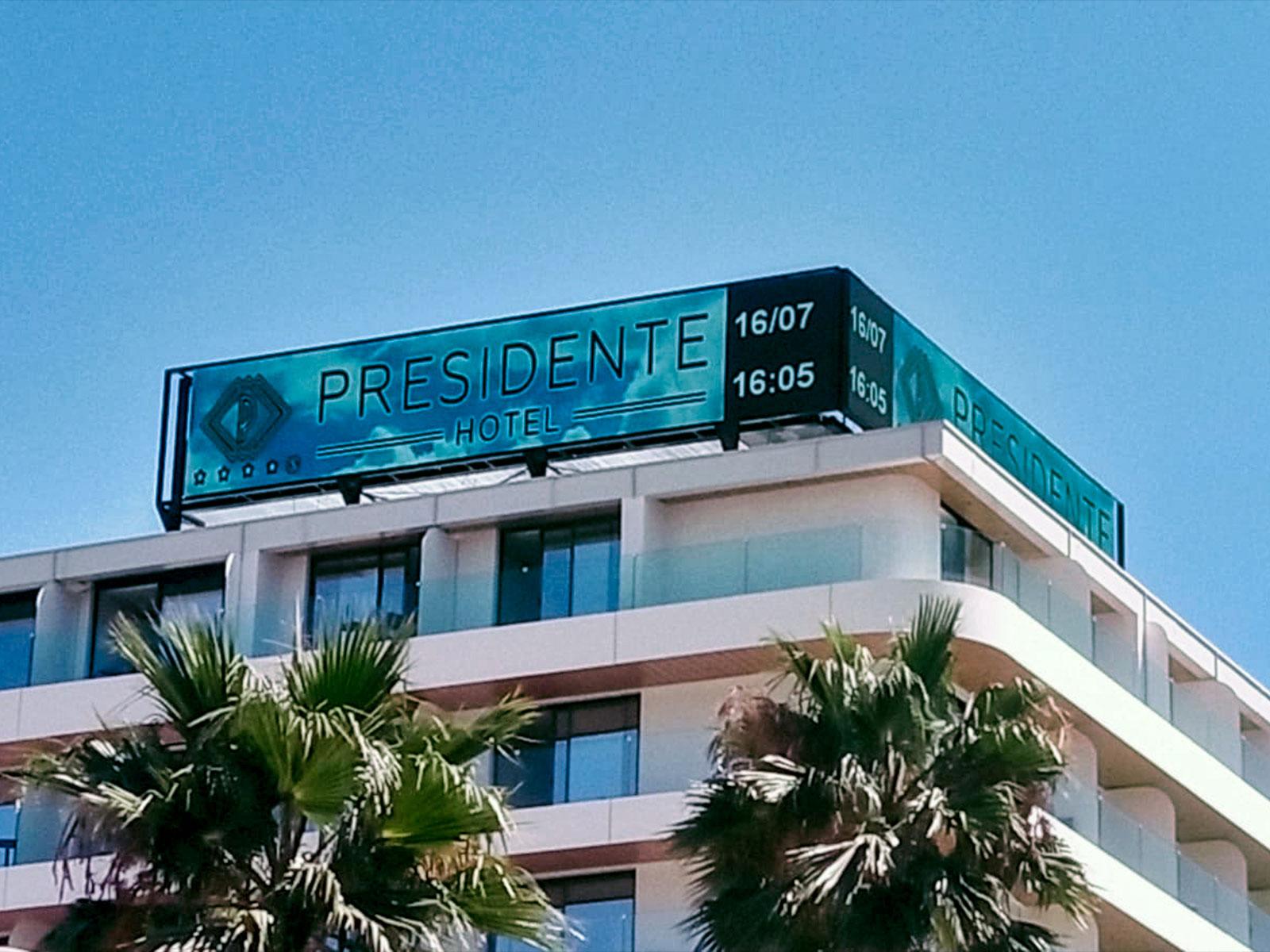 INST. Pantallas LED Hoteles Benidorm