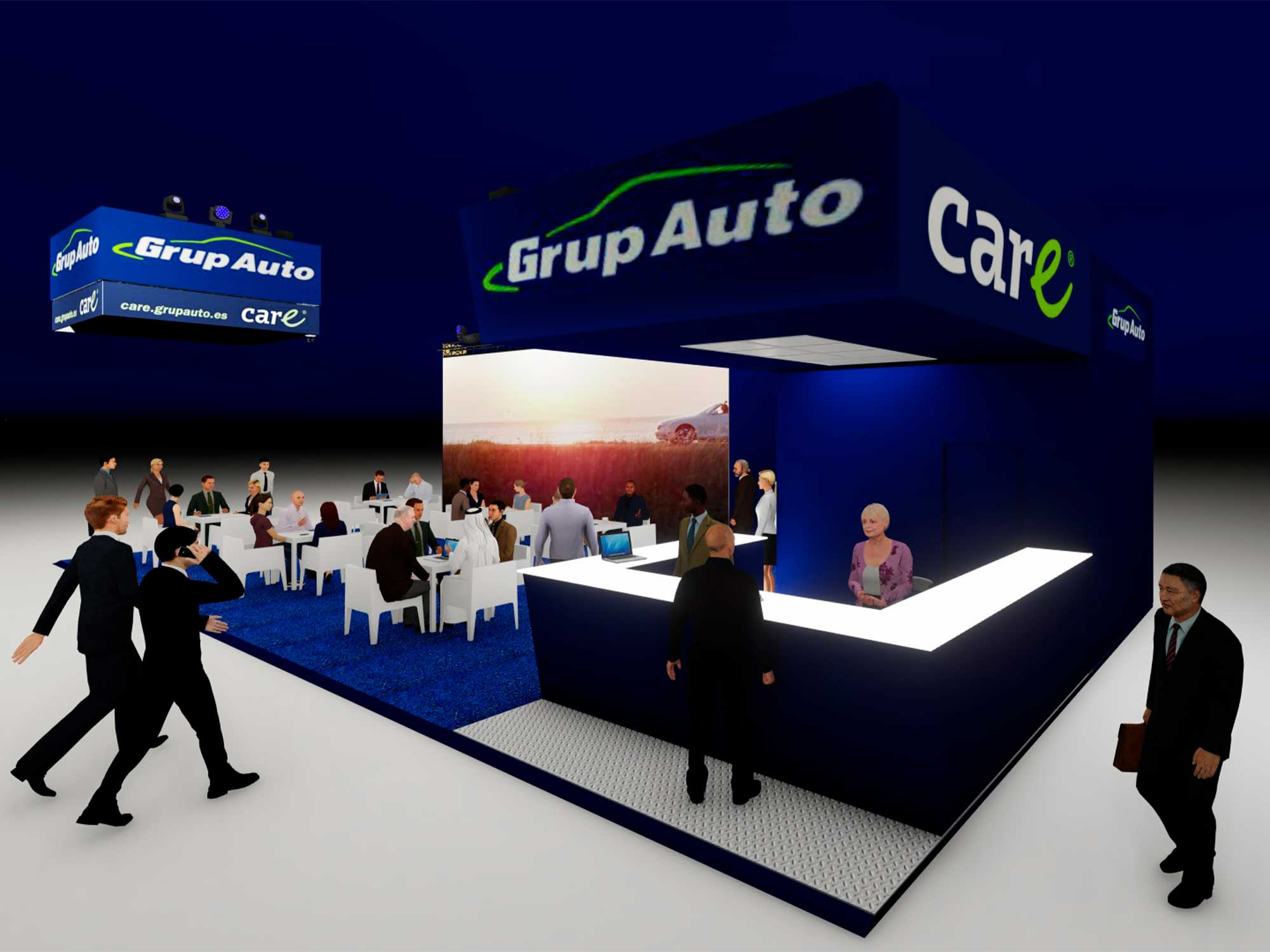 Stand Motortech Grupauto