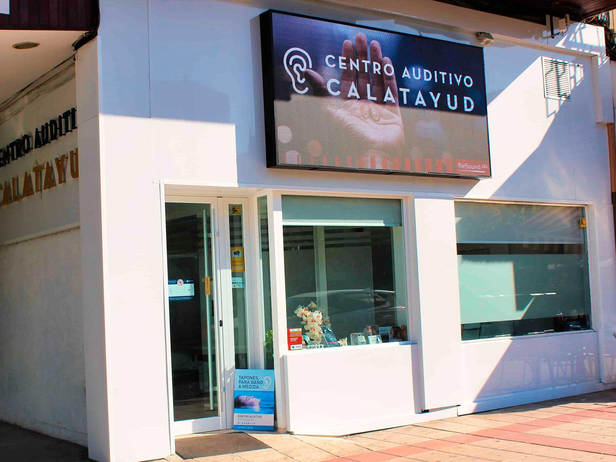 Pantalla centro auditivo Calatayud