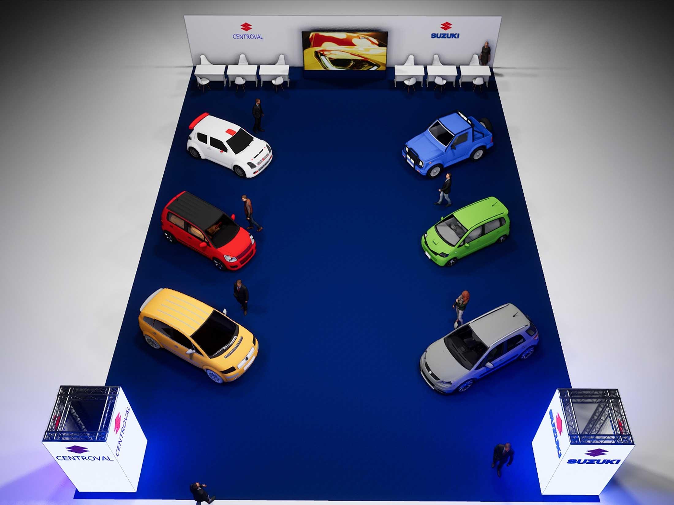 Feria del automovil Suzuki
