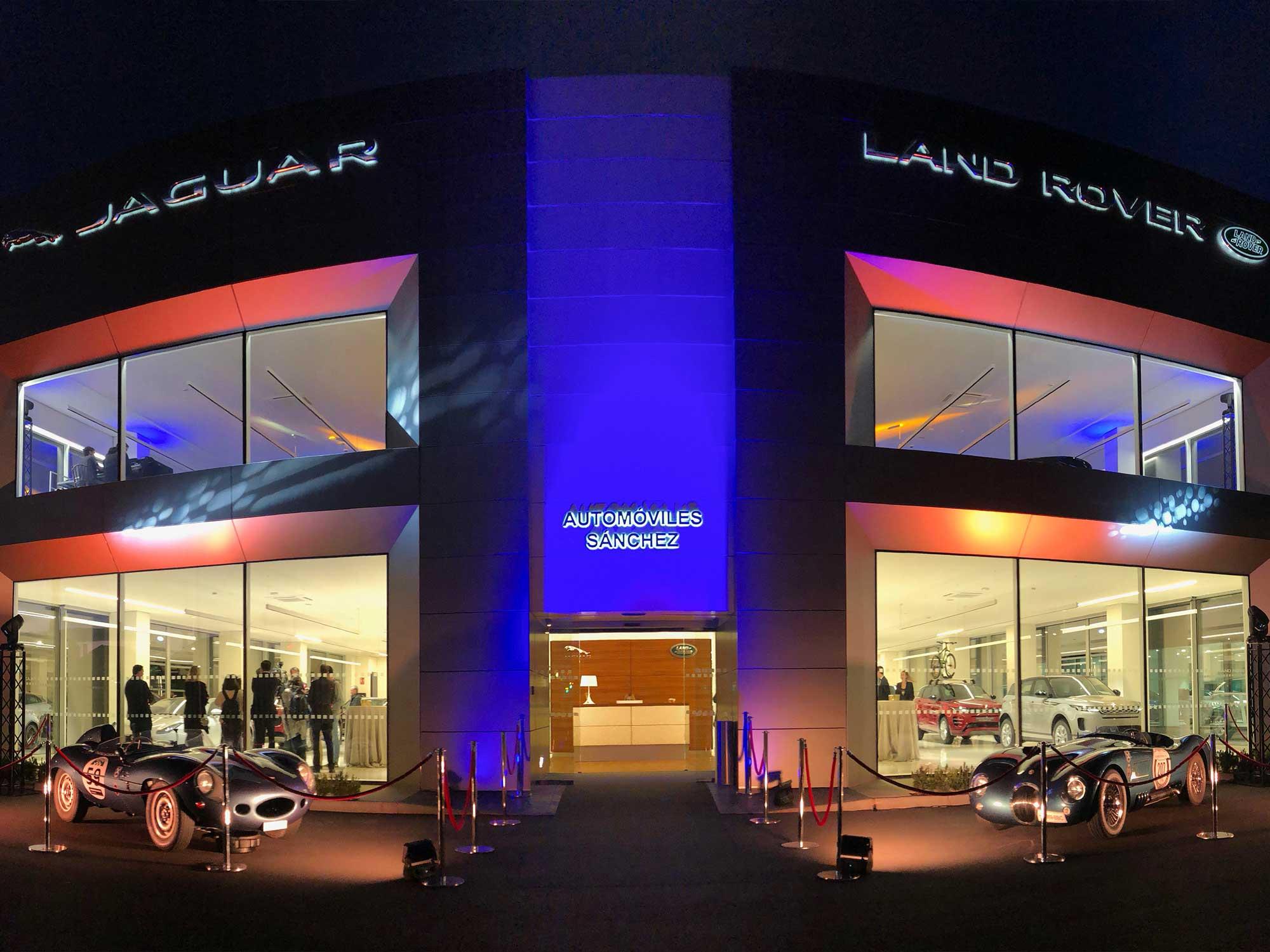 Inauguración instalaciones Jaguar Land Rover